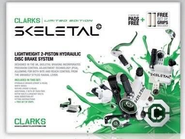 Тормозной набор для велосипеда CLARK`S передний+задний дисковой 3-146