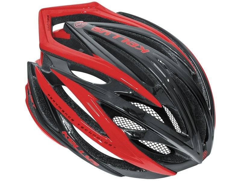 Велошлем KELLYS ROCKET, цвет чёрно-красный, L/XL, Helmet ROCKET, Black-Red, L/XL (58-62cm), фото 1