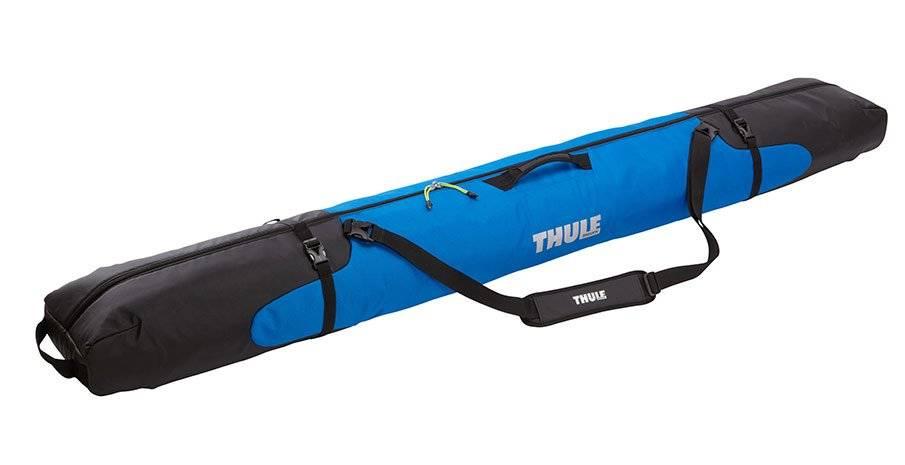 Чехол Thule RoundTrip Single Ski Bag для 1-й пары горных лыж, синий, TH 205202 палки для горных лыж elan race