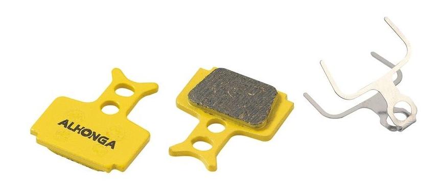 Колодки тормозные ALHONGA HJ-DS42, дисковые, совместимость Formula - R1R, R1, RO, RX, T1, Mega, органика тормозные колодки a2z formula mega