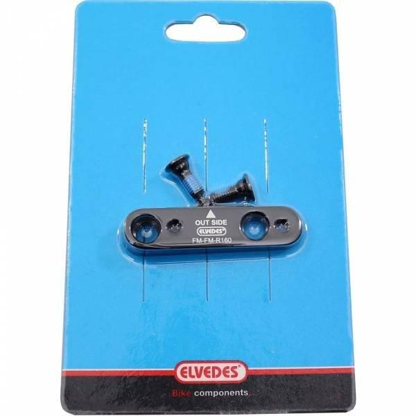 Велосипедный адаптер суппорта ELVEDES FM-FM, Ø160, задний, CP2017160