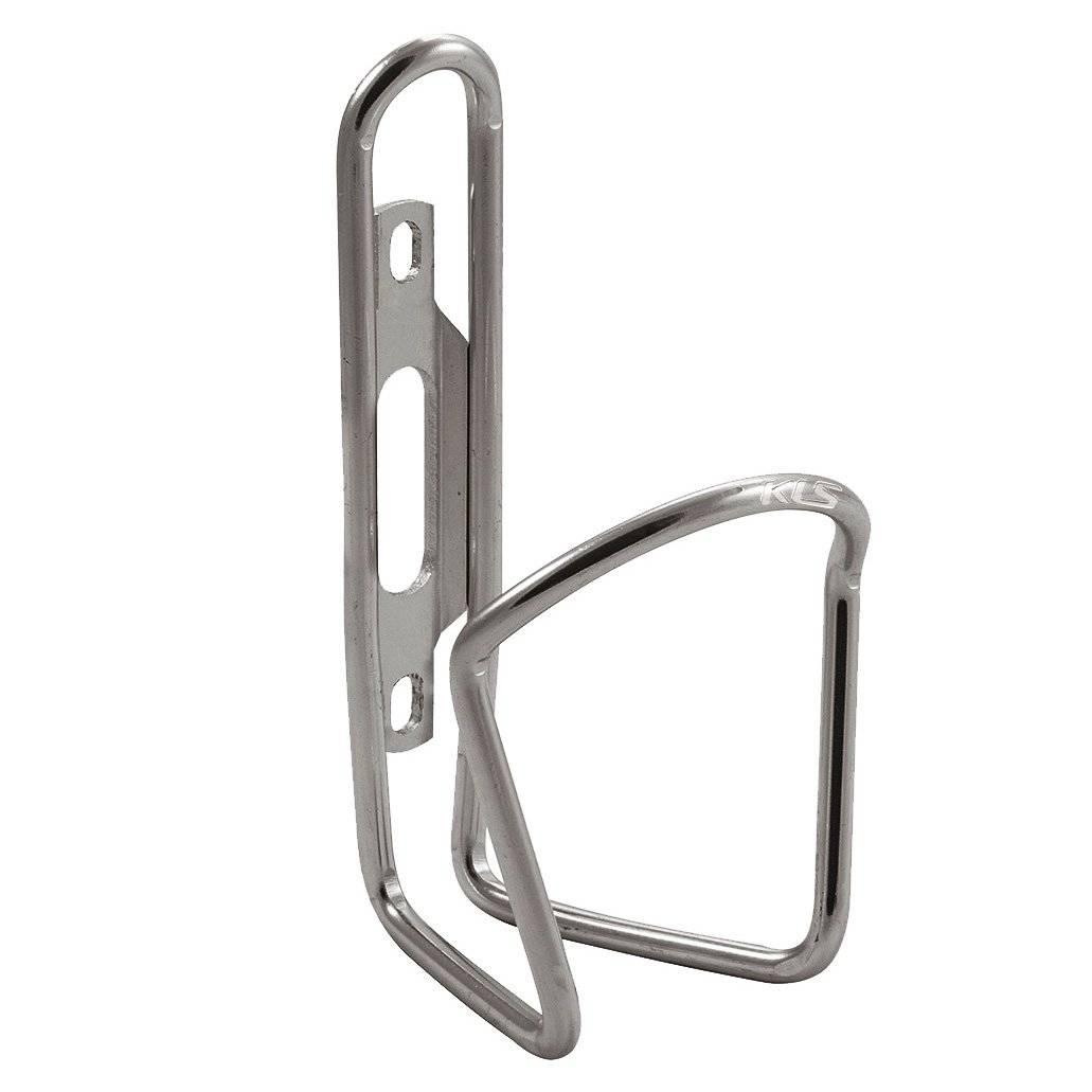 Флягодержатель KLS RATIO JUNIOR серебристый, алюминий 6463-Т5, вес 59г, без упаковки