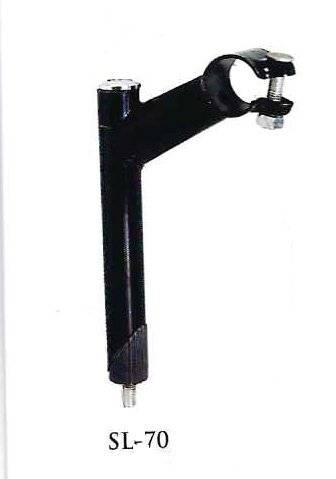 Вынос велосипедный SAIGUAN, стальной со штоком 22,2 х 150 х 80 х 25,4мм, SL-70