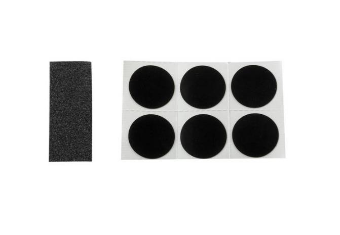 Ремкомплект аптечка SUPER B TB-1118 для покрышек и камер, 6 заплаток, 880160