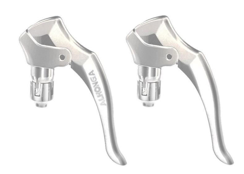 Ручки тормозные ALHONGA HJ-R265A, для шоссейных велосипедов, алюминий, для внутреннего расположения троса