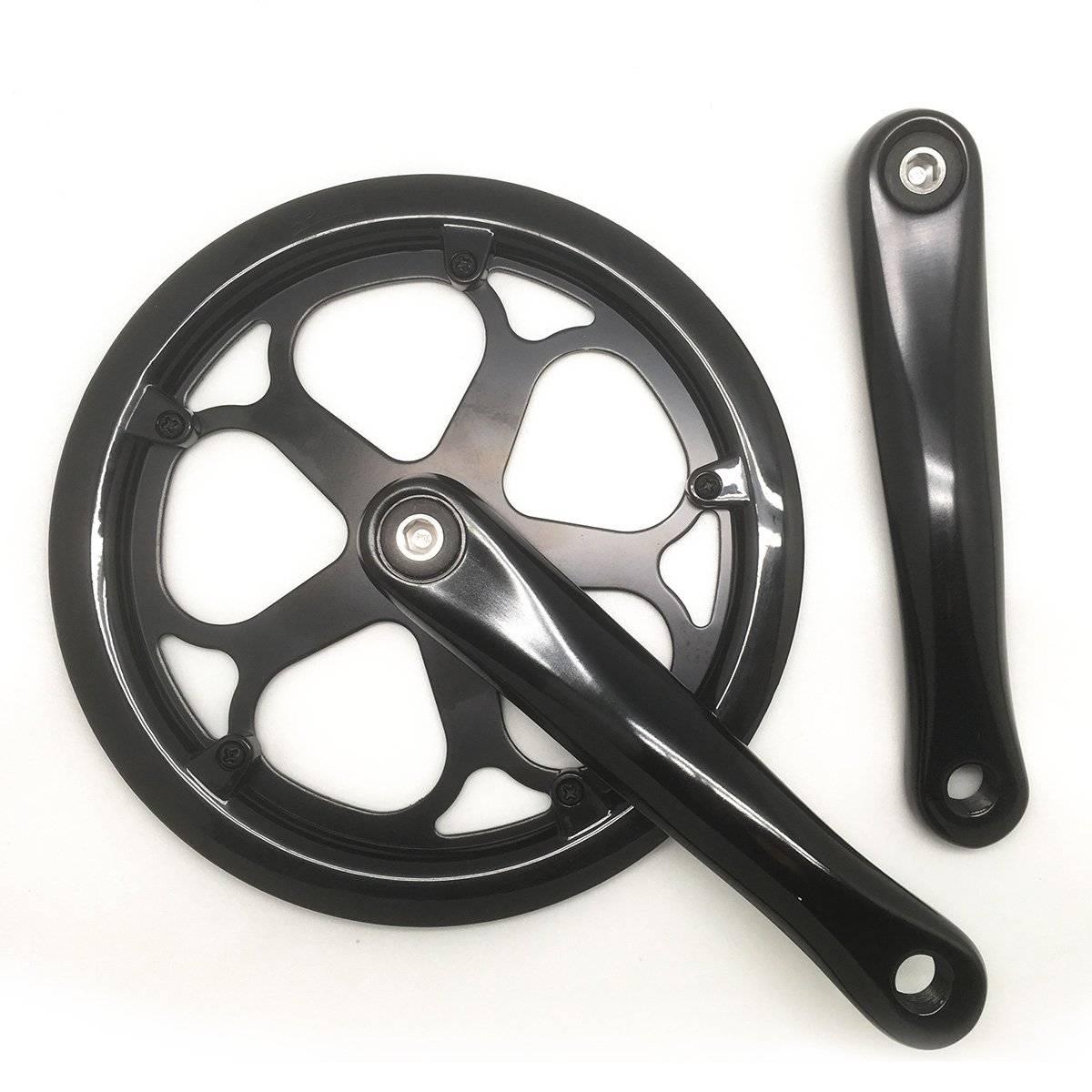 Шатуны для велосипедов Dahon, 48 зубов, цвет чёрный, BXA1302000381