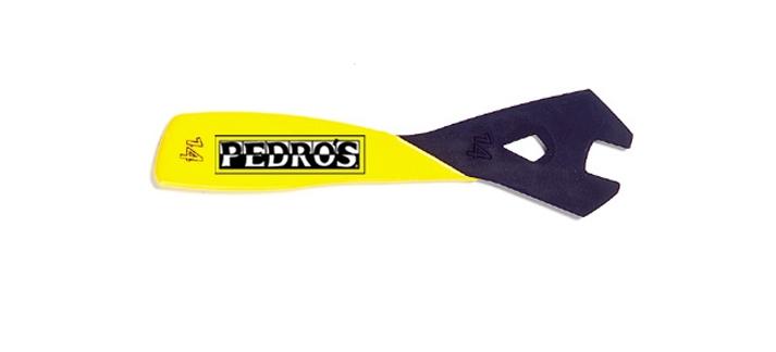 Ключ конусный Pedros для втулок, 14 мм, прорезиненная ручка, 6461014 отверткa ударная 6х100 мм ph2 сталь s2 шестигранное жало боек под ключ прорезиненная ручка профи