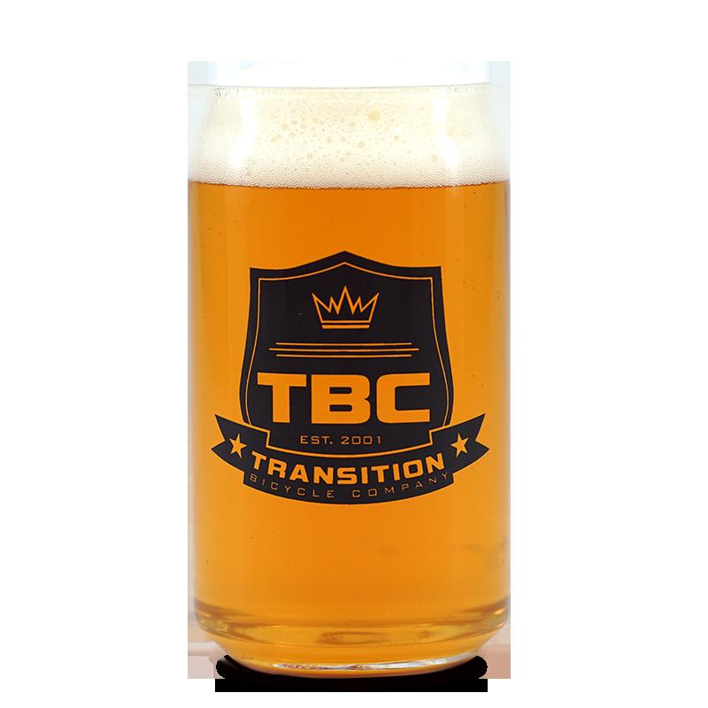 Cтакан с логотипом велобренда TBC Pint Glass, TR Crest, 01.17.99.1626 фото