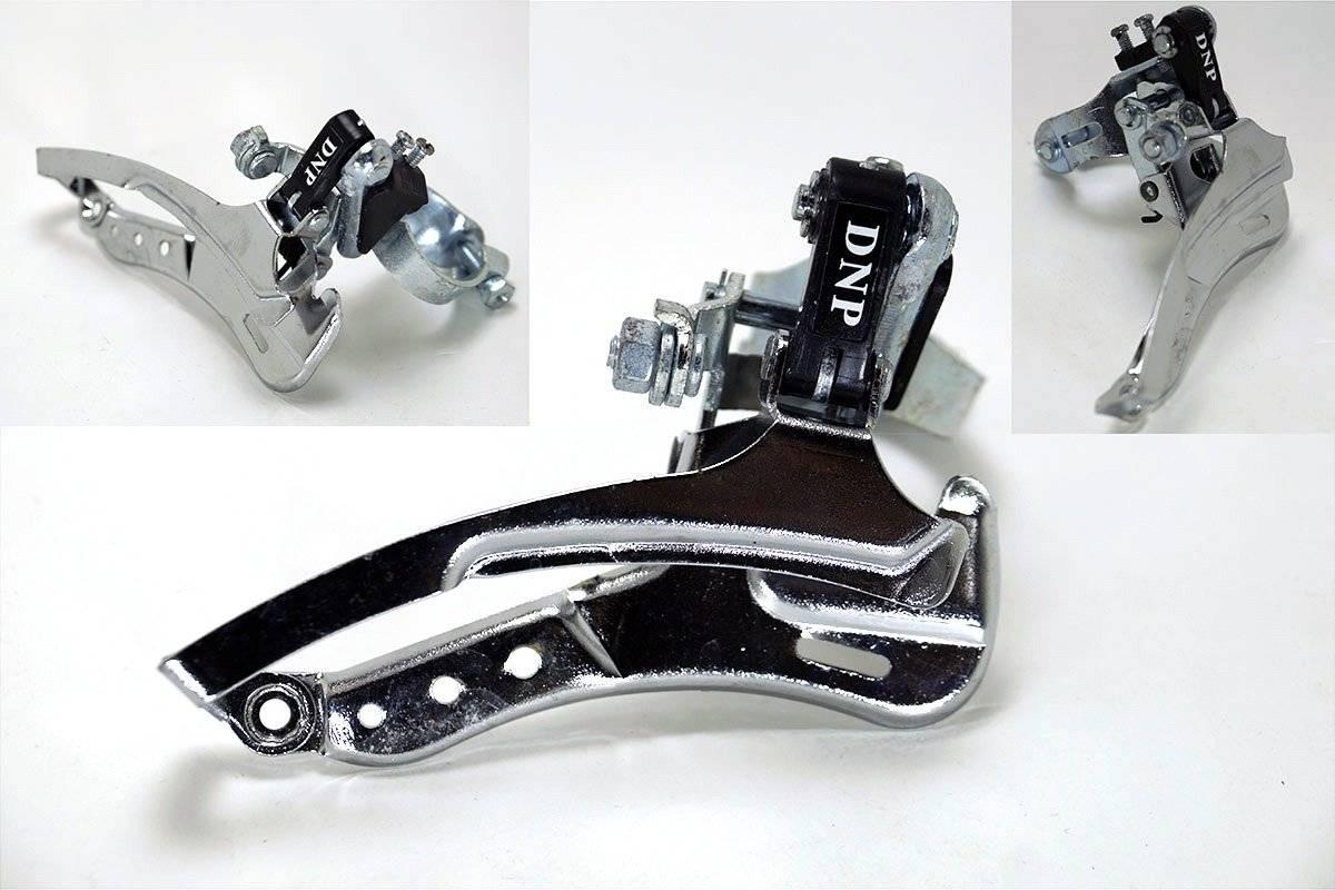 Переключатель передний DNP LY-G828MJ 42Т, хомут 31,8mm, верхняя тяга переключатель передний dnp ly g818lj 42т хомут 34 9mm нижняя тяга