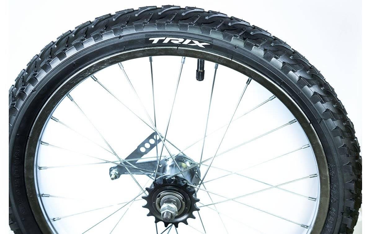 Колесо велосипедное заднее Trix 18