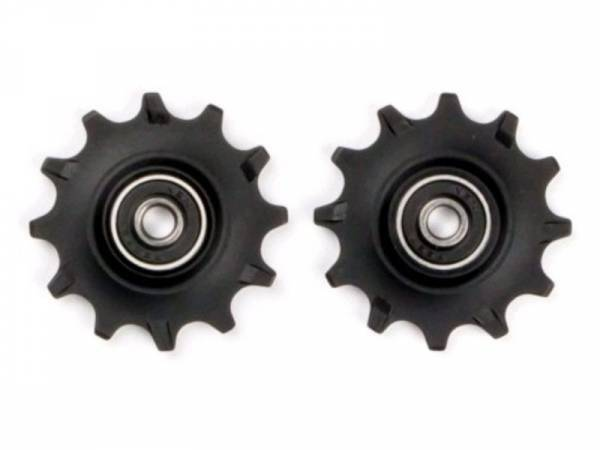 Велосипедный ролик переключятеля ELVEDES, 2х11 зубов, стандартные подшипники, CP2017101