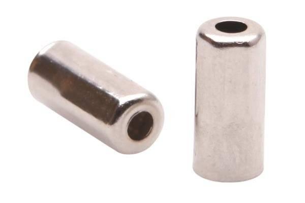 Велосипедный колпачок на рубашку в виде шестигранника ELVEDES, Ø5,0 мм, латунь, серебристый, ELV1167