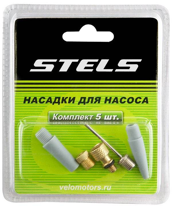 Комплект насадок STELS для насоса из 5-ти элементов, ST (320084)
