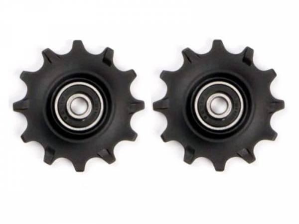 Велосипедный ролик переключятеля ELVEDES, 2х11 зубов, закрытые промышленные подшипники, CP2017086