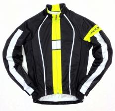Велокуртка Biemme Infinity, черный/желтый, A30F1022M