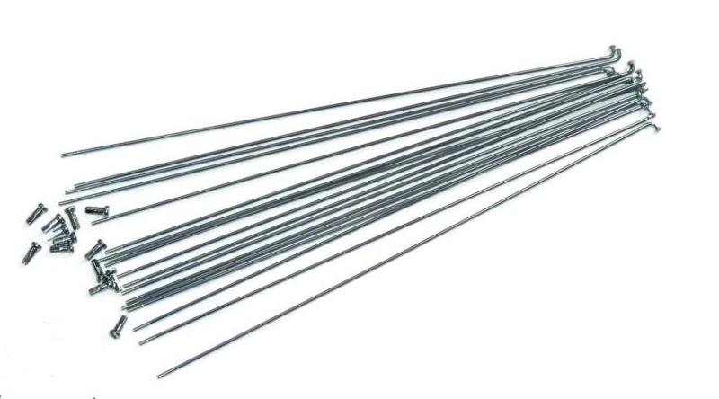 Спица cn SPOKE, 2 mm x 265 mm, 283766