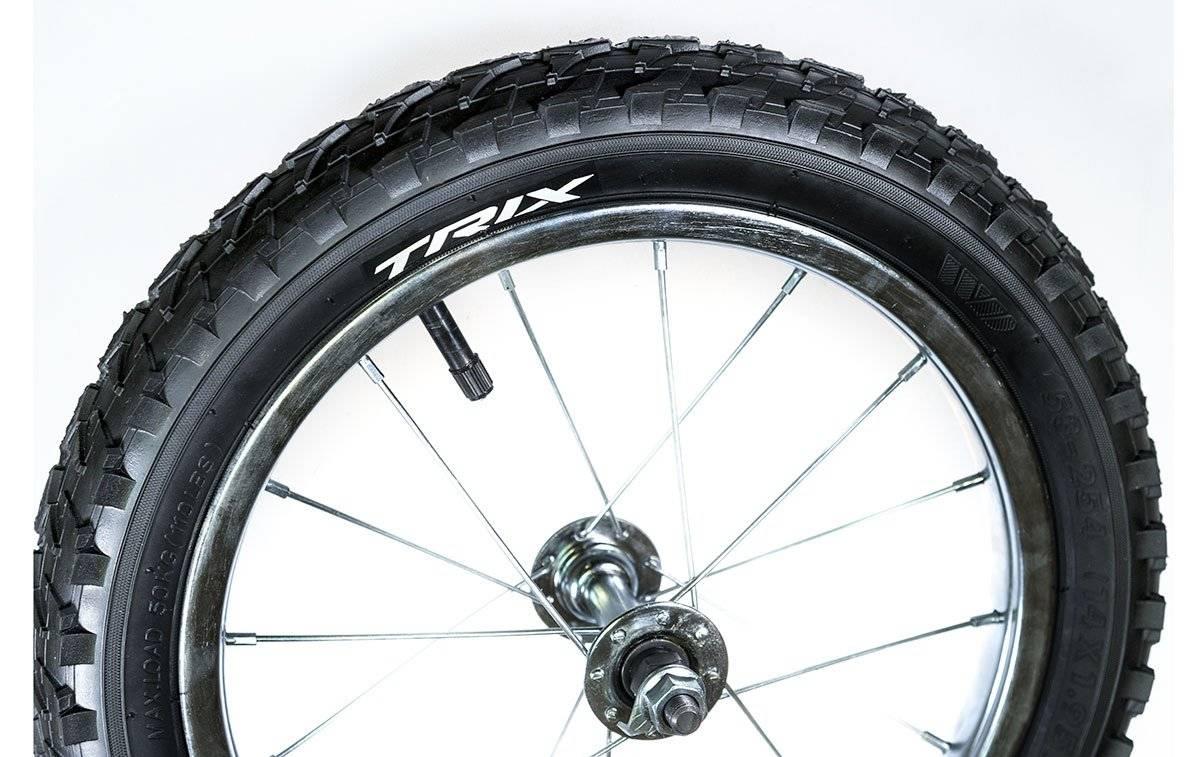 Колесо велосипедное переднее 14