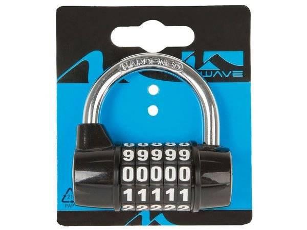 Велосипедный замок M-Wave, U-образный, кодовый, пятизначный код, индивидуальная упаковка. 230121