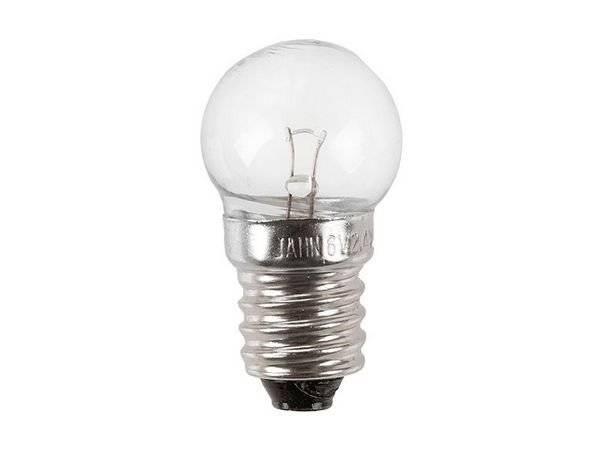 Лампочки для велофар, 6v/2.4w, 10 штук в дисплей боксе. 630080