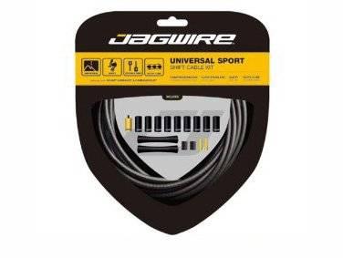 Тросы с оболочками JAGWIRE Universal Sport Shift для переключателей, комплект, серый, UCK202