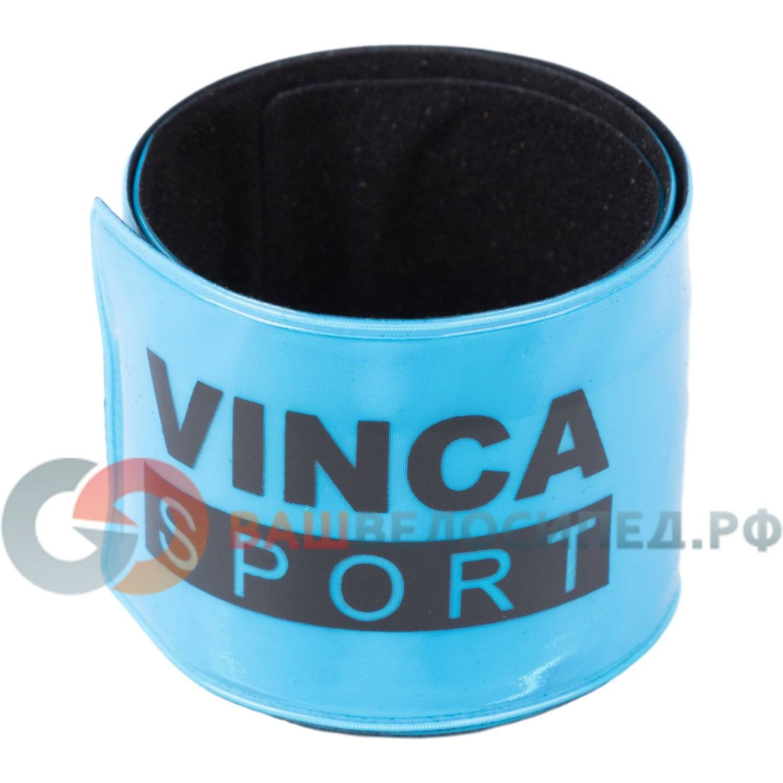 Светоотражающий браслет Vinca, синий, 38*400 мм, RA 132-3