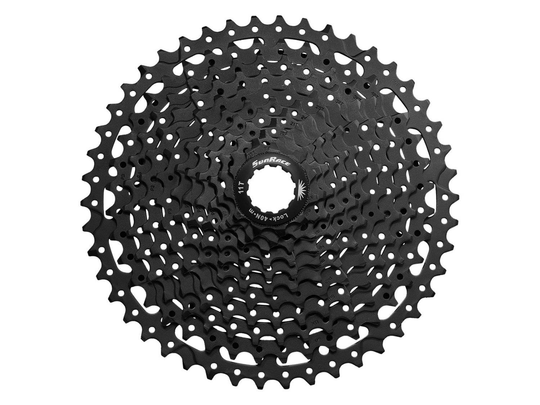 Кассета велосипедная SunRace MS8 11S, 11-50T, ED Black, CSMS8.EA50.ES0