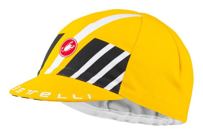 Велокепка Castelli HORS CATEGORIE, жёлтый, 4520049