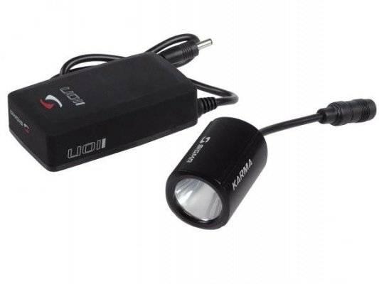 Велофонарь SIGMA KARMA PRO-X, с аккумулятором, IION и адаптером, чёрный, SIG_17540