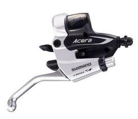 Переключатели для велосипеда Shimano Acera шифтер+тормозная ручка 3х8ск ESTM3602PTAS 2-957