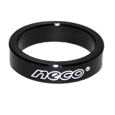 Кольцо проставочное NECO AS3605, алюминий, 1-1\8, 5мм, black, NECO AS3605,5мм,black