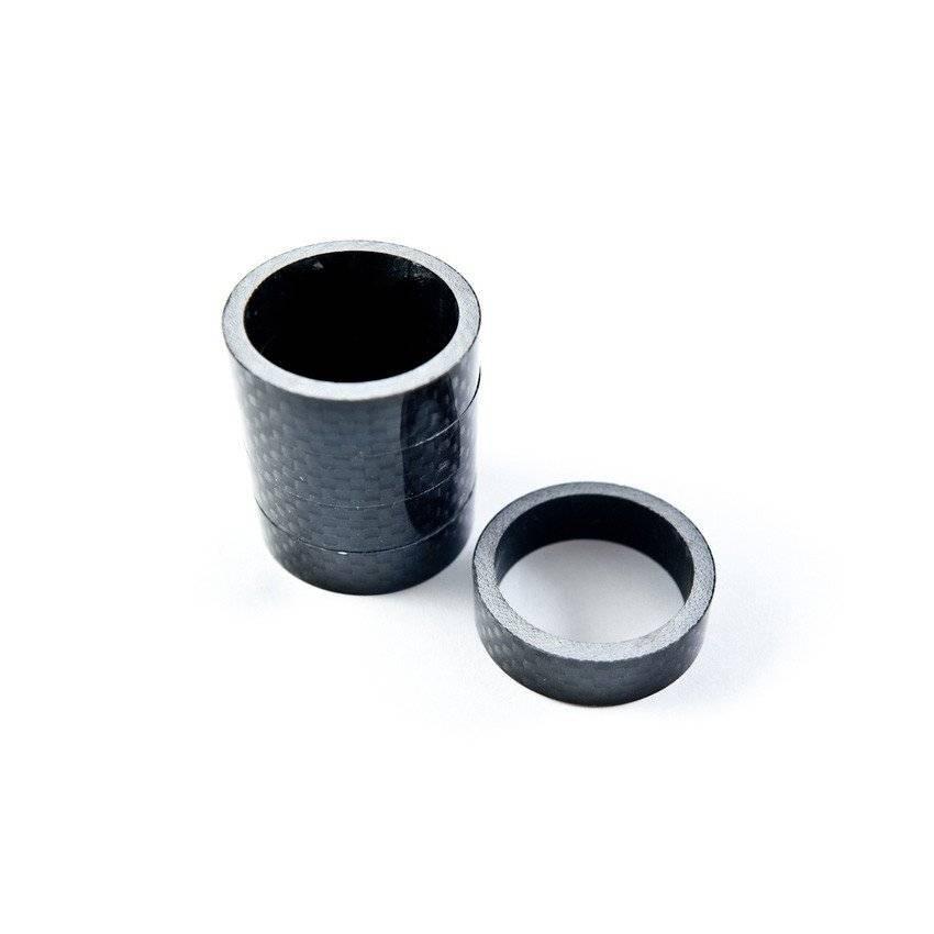 Проставочные кольца ALHONGA HJ-AL003 3K, carbon, 15 мм, ALH_HJ-AL003_carbon_15mm
