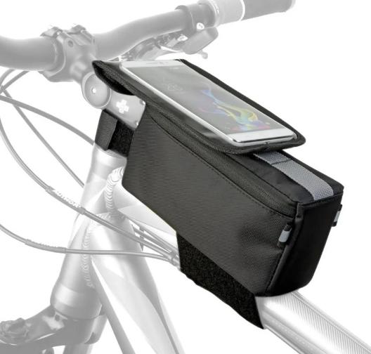 Сумка велосипедная AUTHOR A-R255 TankBagMPP+ чехол для смартфона, 20x9x6,5 см, универнсальное крепление, 8-15001088