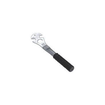 """Велоключ Kenli, педальный, сталь, резина, 15/24 мм и 9/16"""", чёрный, KL-9730G"""
