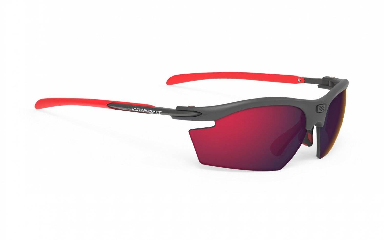 Очки велосипедные Rudy Project RYDON Graphite - POL3FX HDR MLS, Red, SP536298-0001