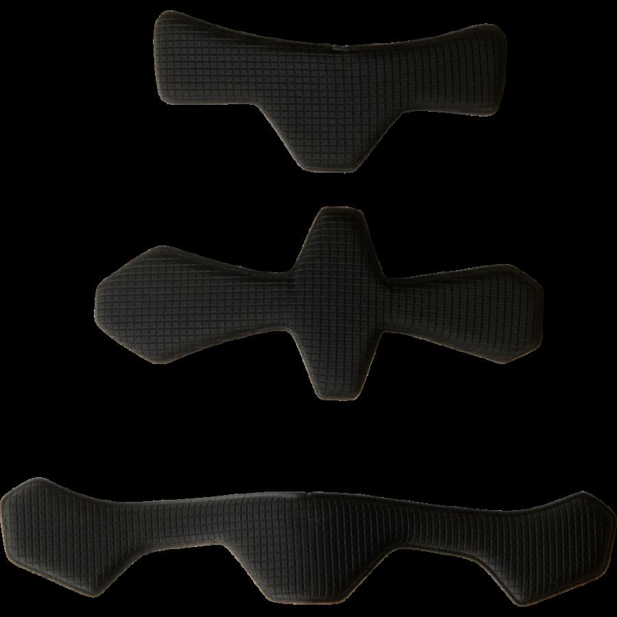 Прокладка внутренняя шлема Fox Flight Hardshell Thick Padset, Black, 17015-001-OS