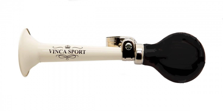 Фото - Клаксон велосипедный Vinca Sport, металлический, Vintage, с черной грушей, HR-278 black клаксон велосипедный vinca sport металлический vintage с коричневой грушей hr 278 brown