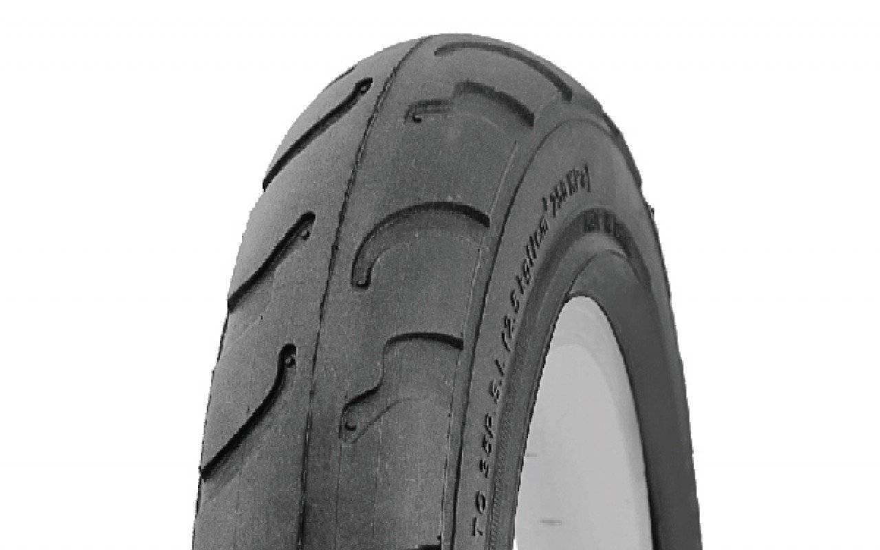 Велопокрышка TRIX, 10 х 2, для детских колясок и велосипедов, черный, P-1030 BLACK