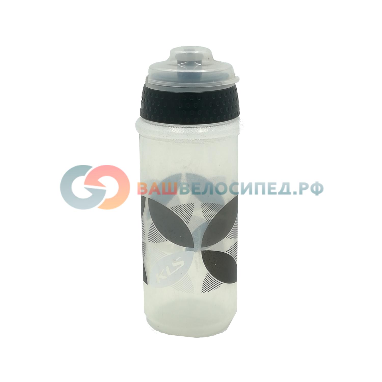 Фляга KELLYS ATACAMA, 0.5л, белый/чёрный, с крышкой