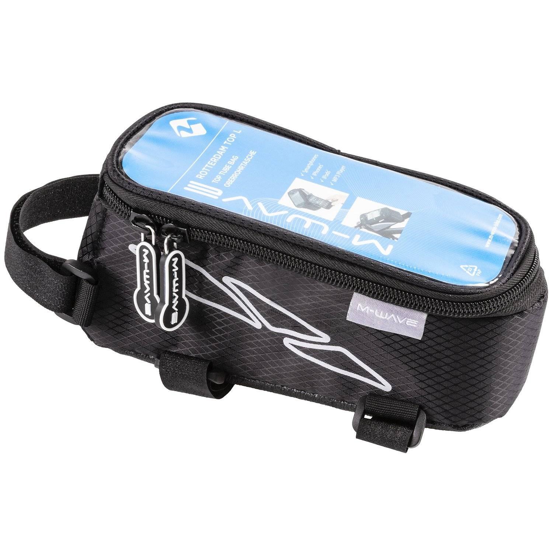 Сумочка/чехол+бокс M-WAVE на раму для смартфона 170х80х80мм влагозащитная черная 5-122375, фото 1