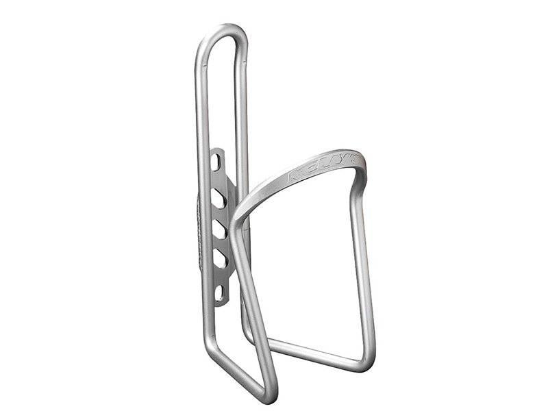 Флягодержатель велосипедный KELLYS KLS RATIO, алюминий 6463-Т5, вес 59г, серебряный