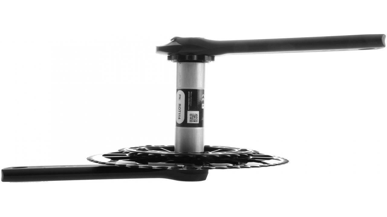 Шатуны с измерителем мощности Rotor Inpower Flow MAS BSD110 Black 172.5mm (C13-023-20010-001), фото 3