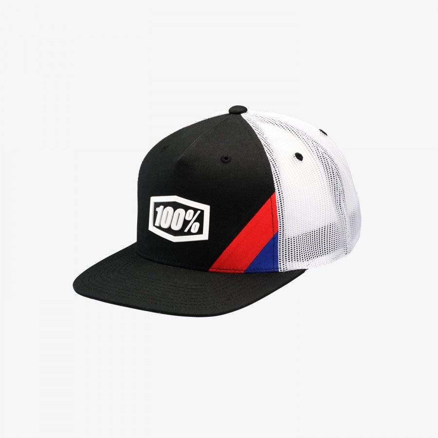 Бейсболка 100% Corpo Black&White Classic Snapback Hat, 20015-001-01