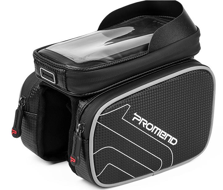 Велосумка на раму Promend, с отделением для смартфона 6,2