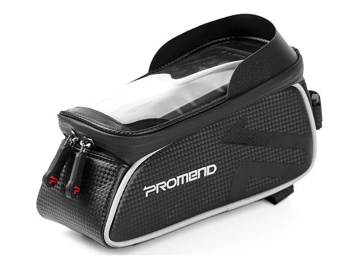 Велосумка на раму Promend, с отделением для смартфона 6