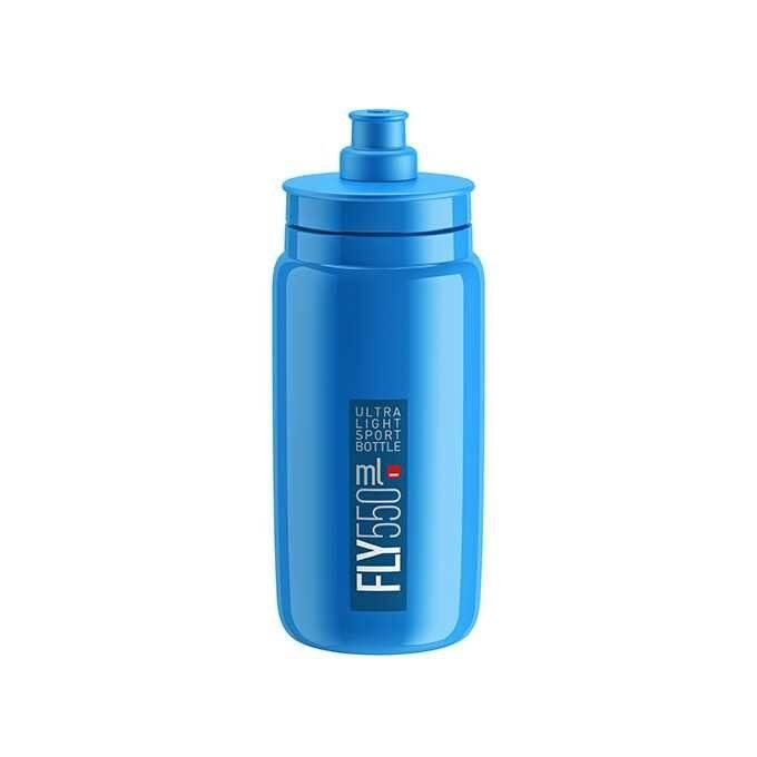 Фляга велосипедная Elite Fly, 550 мл, голубой, EL01604305 фляга elite ponta 550 мл el0121504