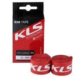 Ободная лента KELLY'S, FV, пара, в торговой упаковке, KLS 28 / 29 x 22мм (22 - 622), FV