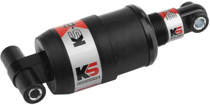 Амортизатор велосипедный Kind Shock KS-261, пружинный, 165 мм, 850 LBS, 420027, LU074277