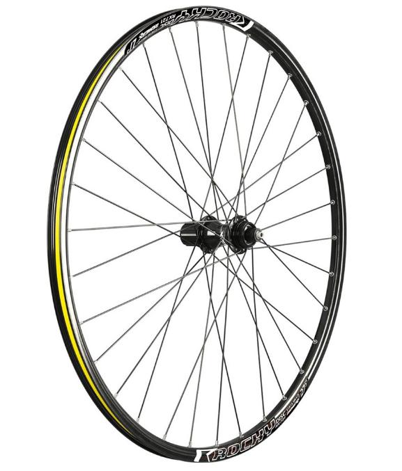 """Колеса велосипедные REMERX ROCKY DISC, 26"""", комплект, 559x22, 32 Н, CenterLock, QR, RWS26b-RD(Centerlock)"""
