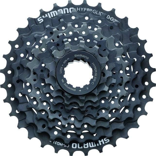 Кассета велосипедная Shimano Altus 8х11-32 IG/HG черно-серая ACSHG318132 2-8022