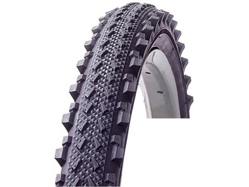 Велопокрышка EXCEL 24x1.95 универсальная, черная E-353